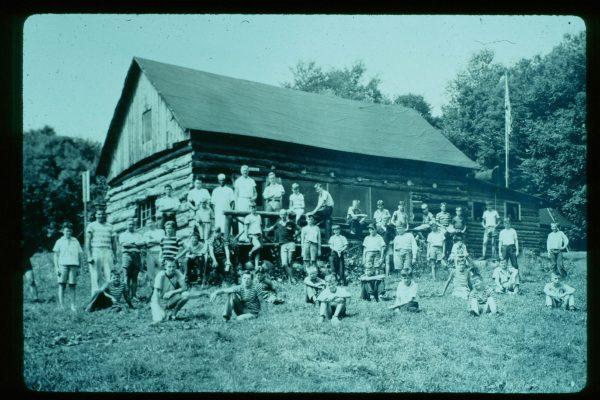 A-1-098-1935 Camp Photo