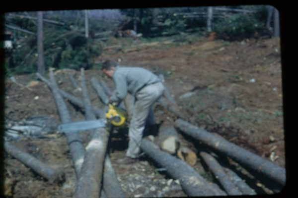 A-1-110-Sawing Island Logs