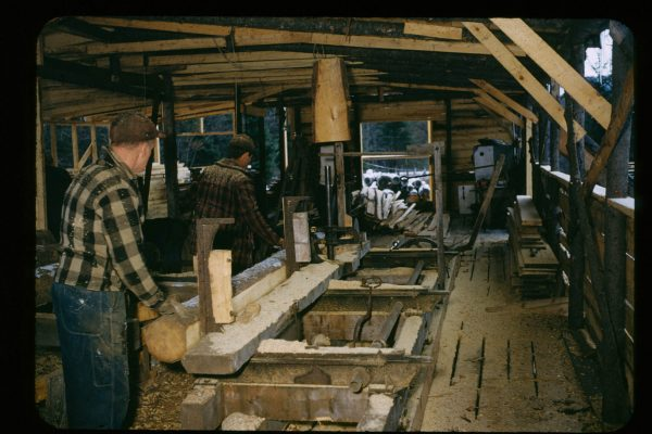 A-1-119-Saw D H lumber