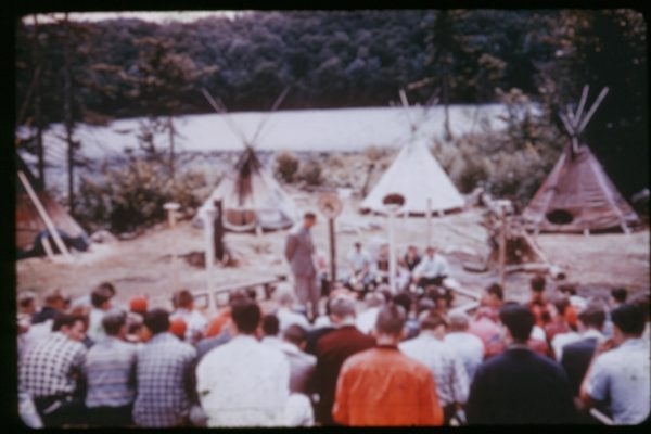B-8-033-Sunday Service Indian Island