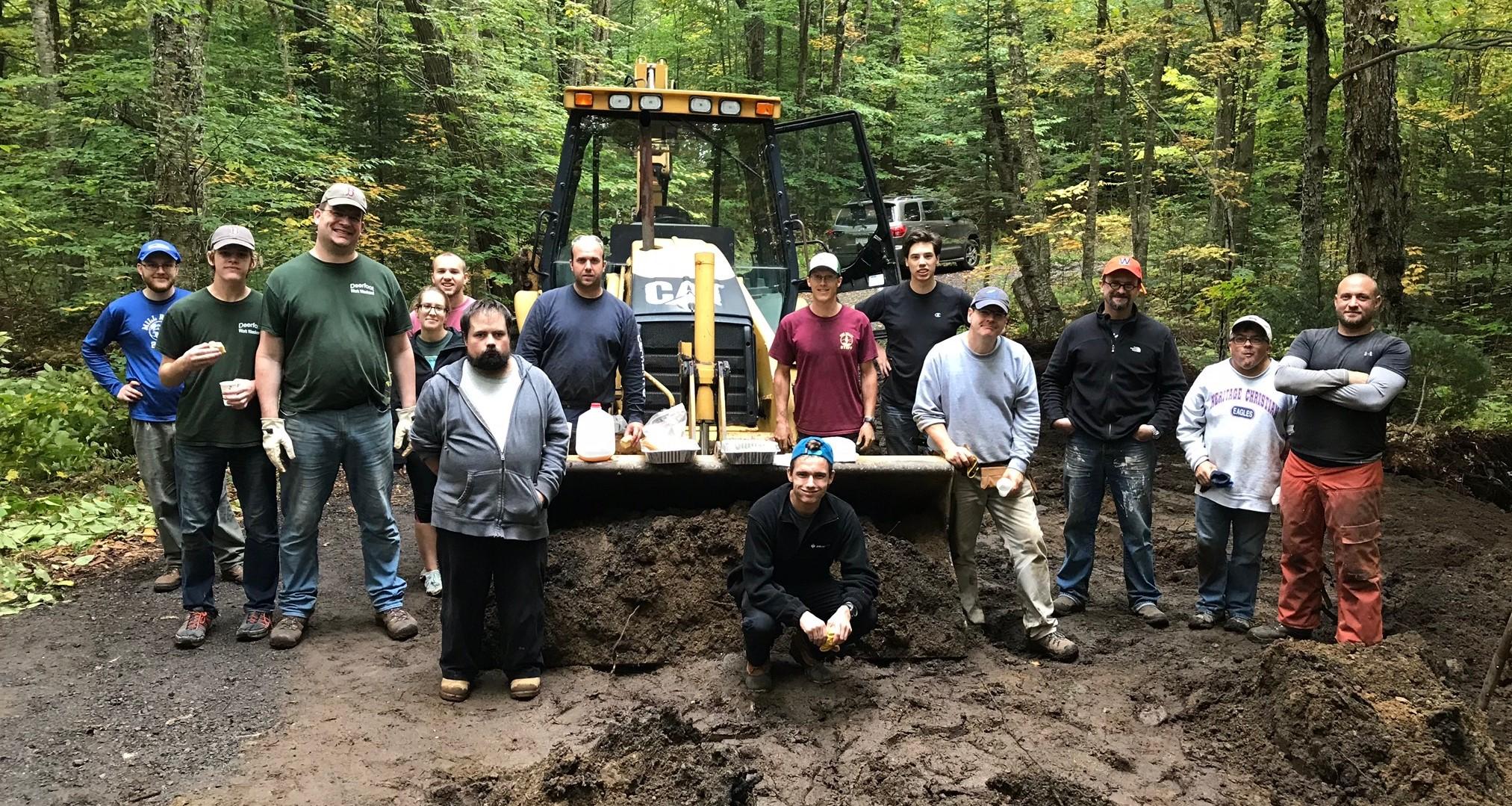Deerfoot ADK Work Weekend Projects